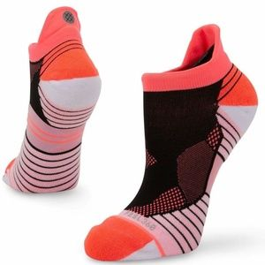 Stance High Altitude Tab Pink Pink Socks